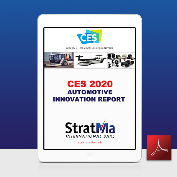 CES 2020 - Automotive Innovation report