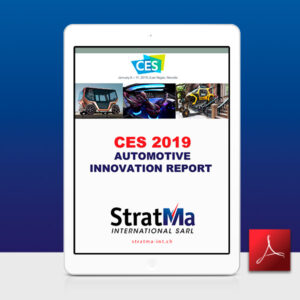 CES 2019 Automotive Innovation Report