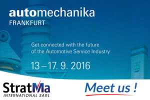 Meet StratMa International at automechanika in Frankfort