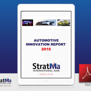 2016 Automotive Innovation Report