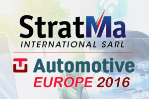 Stratma International at TU Automotive Europe 2016