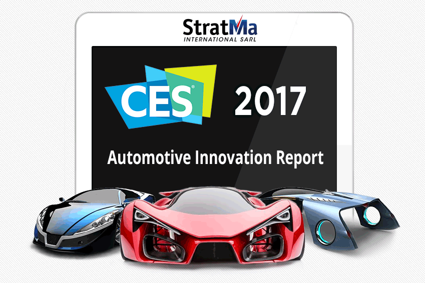 CES 2017 - Automotive Inovation Report - StratMa International