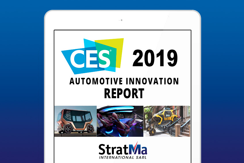 StratMa International - CES 2019 - Automotive Innovation Report